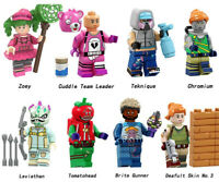 Video Game Character Zoey Leviathan Teknique Cuddle Team Leader Building Blocks
