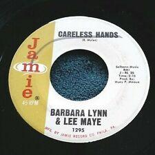 Barbara Lynn & Lee Maye - Careless Hands/Just Lay It On the Line 45 Jamie soul