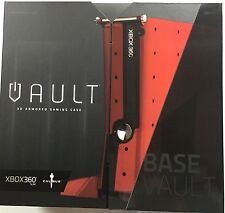 Calibur11 Licensed Vault for XBox360 Base Case Model Red - Brand New