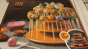 Sweet Creations Halloween Cake Pop & Cupcake Stand. New, open box, parts sealed