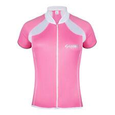 Zimco New Women Cycling Elite Jersey Short Sleeve Jersey Bike Shirt Pink 1033