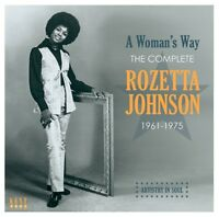 ROZETTA JOHNSON - A WOMANS WAY-COMPLETE 1961-1975   CD NEW!