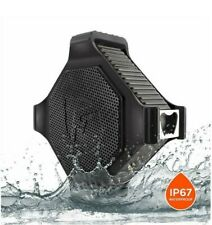 ECOXGEAR WATERPROOF & FLOATS COMPACT BLUETOOTH SPEAKER  WITH RUGGED STYLING