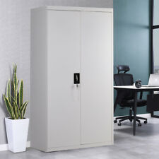 More details for office steel file storage cabinet filing cupboard unit metal locker lockabl door
