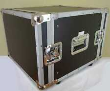 """FLYHT PRO 8 HE Effekt / Verstärker Rack Flight Case, 43 cm tief, Double Door 19"""""""