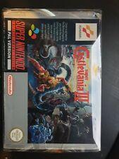Super Castlevania IV / 4 Boxed (Super Nintendo Entertainment System, Snes, 1992)