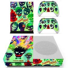 Joker Suicide Squad DC Xbox One S Console Controllers Vinyl Skin Decals Stickers