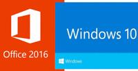 Microsoft Windows 10 Professional + Office 2016 Pro Plus Downloadlink Key 32Bit