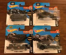Hot Wheels - Batman Batmobile variants & The Bat - Diecasts