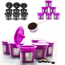 6 K-Cups Refillable Reusable Coffee Filter Pod for Keurig 2.0 1.0 Coffee Makers