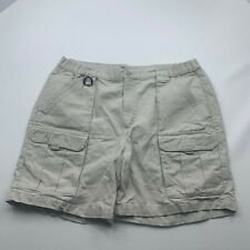 Columbia PFG Shorts Brown Size Large Cargo Outdoor Hiking Fishing Men 3001