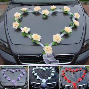 Autoschmuck Hochzeit Herz Gunstig Kaufen Ebay