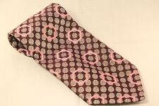 Pegasus Pink and Burgudy pattern Mens Tie