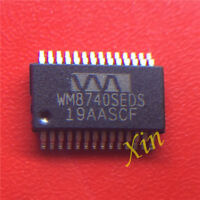 2pcs WM8740SEDS SSOP-28 IC original