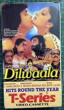 Old VHS VIDEO CASSETTE TAPE BOLLYWOOD INDIA MOVIE Dilwaala MEENAKSHI SMITA