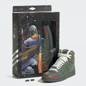 Adidas x Star Wars Top Ten Hi Boba Fett FZ3465 ( US 4 - 13 ) Limited Chewbacca