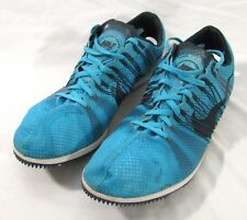 Nike Racing Track Shoes Spikes Blue Matumbo Blue 526625 441 Size 12.5 US 47 EUR