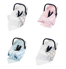 *NEW DOUBLE-SIDED BABY WRAP FOR CAR SEAT / CAR SEAT BABY BLANKET / 100x100cm