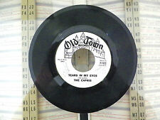 THE CAPRIS- TEARS IN MY EYES- WHY DO I CRY- 45RPM- RECORD- PROMO- VG+