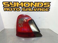 MG ZT Rover 75 Saloon frein arrière lampe lumière Joint Éponge Seal XFH100401 1 PC