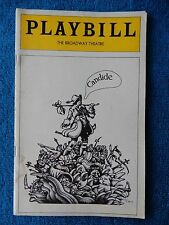 Candide - Broadway Theatre Playbill - May 1975 - Charles Kimbrough