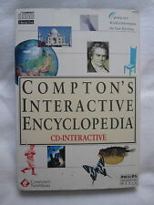 Comptons Interactive Encyclopedia Philips CD-i Complete