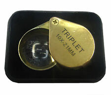RDGTOOLS SINGLE LENSE ROUND EYE LOUPE WITH 10 X MAGNIFIER