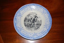 EXCEPTIONAL CREIL MONTEREAU THE PLEASURES OF HOUSEHOLD WALL OR CABINET PLATE #3