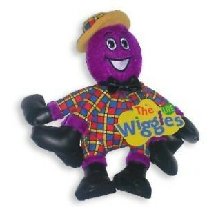 """The Wiggles Plush 8"""" Henry the Octopus Stuffed Plush Soft Toy"""