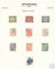 Netherlands # 107-116 Complete Used Set of 10