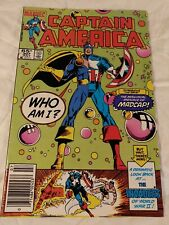 CAPTAIN AMERICA #307 / VF+ condition 8.5 / first MADCAP appearance