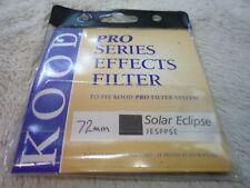 72 mm densité neutre lentille filtre pour Solar Eclipse Original Qualité Kood (Sun)