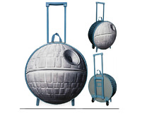DISNEY STORE DEATH STAR ROLLING LUGGAGE -STAR WARS - CHILDREN CARRY ON SUITCASE