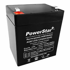 PowerStrar CA-1240  12V 4AH  SLA Battery for Casil Ca1240 Alarm Control System