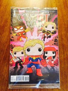 Funko Marvel Collector Corps Women of Power Civil War II #1 Variant Comic Book