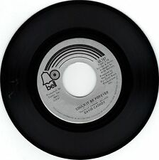 """CASSIDY, David  (Could It Be Forever)  Bell 45,187 + FREE """"VG"""" picture sleeve"""