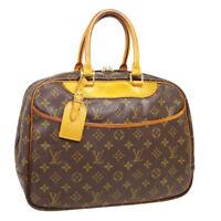 LOUIS VUITTON DEAUVILLE BUSINESS HAND BAG VI0926 PURSE MONOGRAM M47270 31241