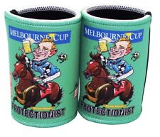 Melbourne Cup - Protectionist Cartiture Stubby holders x 2