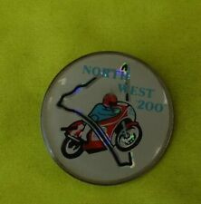 More details for 1970's northwest 200 motorcycle bike badge pin
