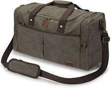 Samshows Travel Canvas Duffel Bag