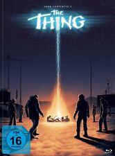 John Carpenters THE THING - 3-Disc-Mediabook Edition #Ferguson Blu-ray *NEU*OVP*