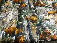 Realtree Animals in the Forest Camouflage 9902 Cotton Fabric-$10.79/yard