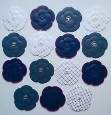 New Spring 2020 CHANEL set of 15 pcs paper camellia stickers Rare