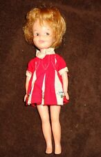 Deluxe Reading Penny Brite Doll Red Dress Vintage