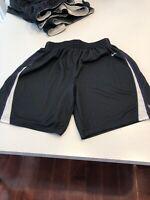 Game Worn Used Nike TCU Horned Frogs Basketball Shorts Medium