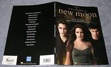 TWILIGHT SAGA ~ NEW MOON ~ THE SCORE ~ MOVIE SONG BOOK SHEET MUSIC ~ PIANO SOLO