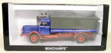 Minichamps 1/43 Scale Modell Bussing 8000 S Canvas Truck + 3 axle Trailer Set