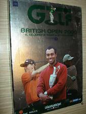 DVD N°7 IL GRANDE GOLF BRITISH OPEN 2000 EL REGISTRO DE TIGER WOODS