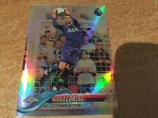 Topps Chrome Premier League Hugo Lloris refractor Card