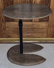 Ekornes Stressless Adjustable Walnut Brown Stain Ellipse Table New in Box